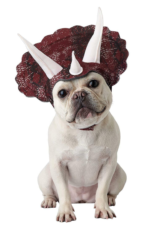 Triceradog Horned Dinosaur Dog Costume Pet Dog Costume Ideas