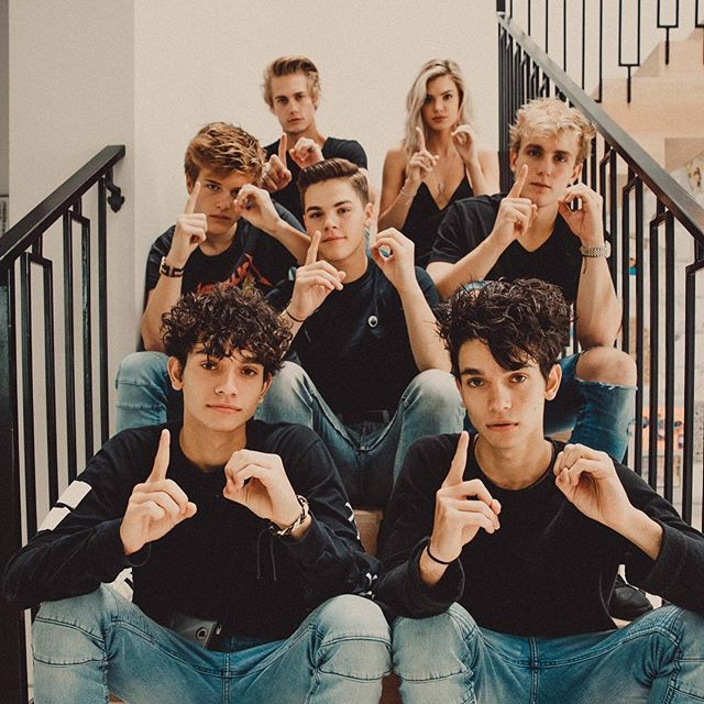 We finally decided to give our squad a name. We're called Team 10 follow our page @team10official