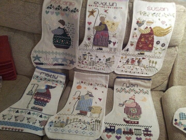 Anna/'s Stocking Charm Pack Embellishments Shepherd/'s Bush