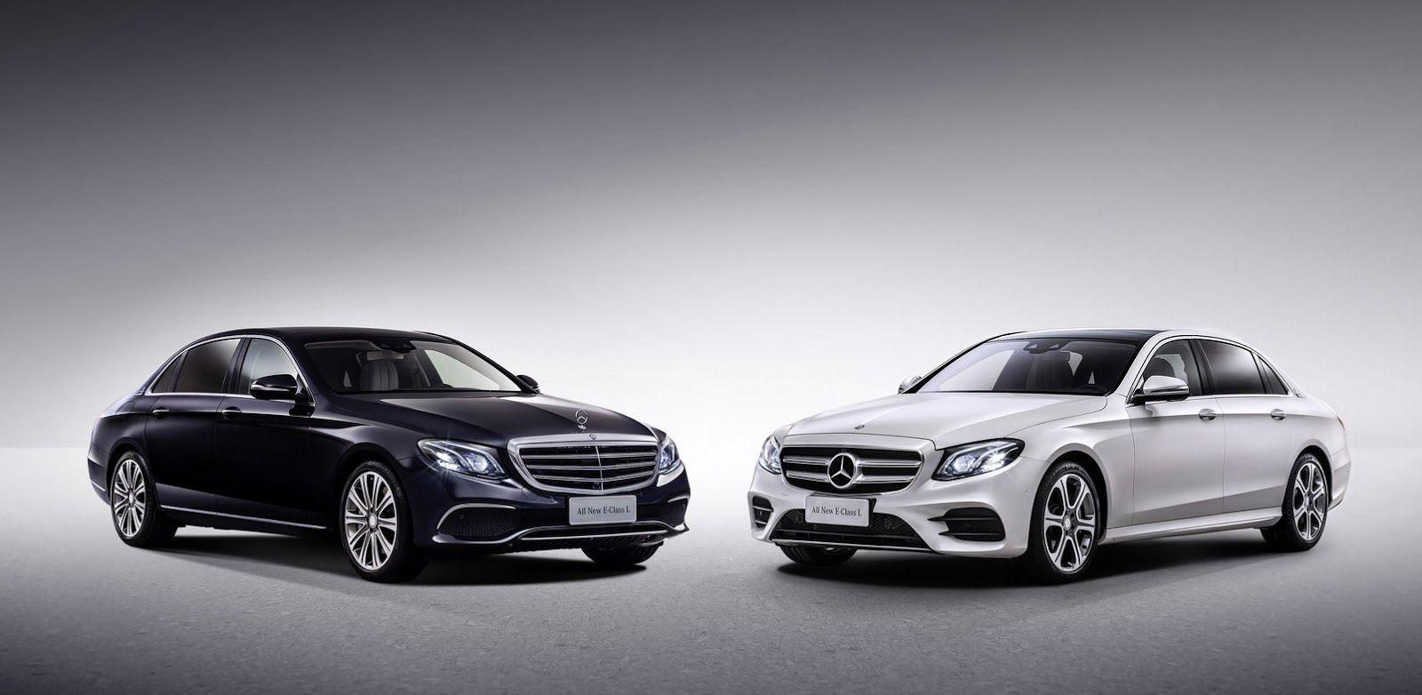 China S New Mercedes Benz E Class Lwb Looks Like A Mini Maybach