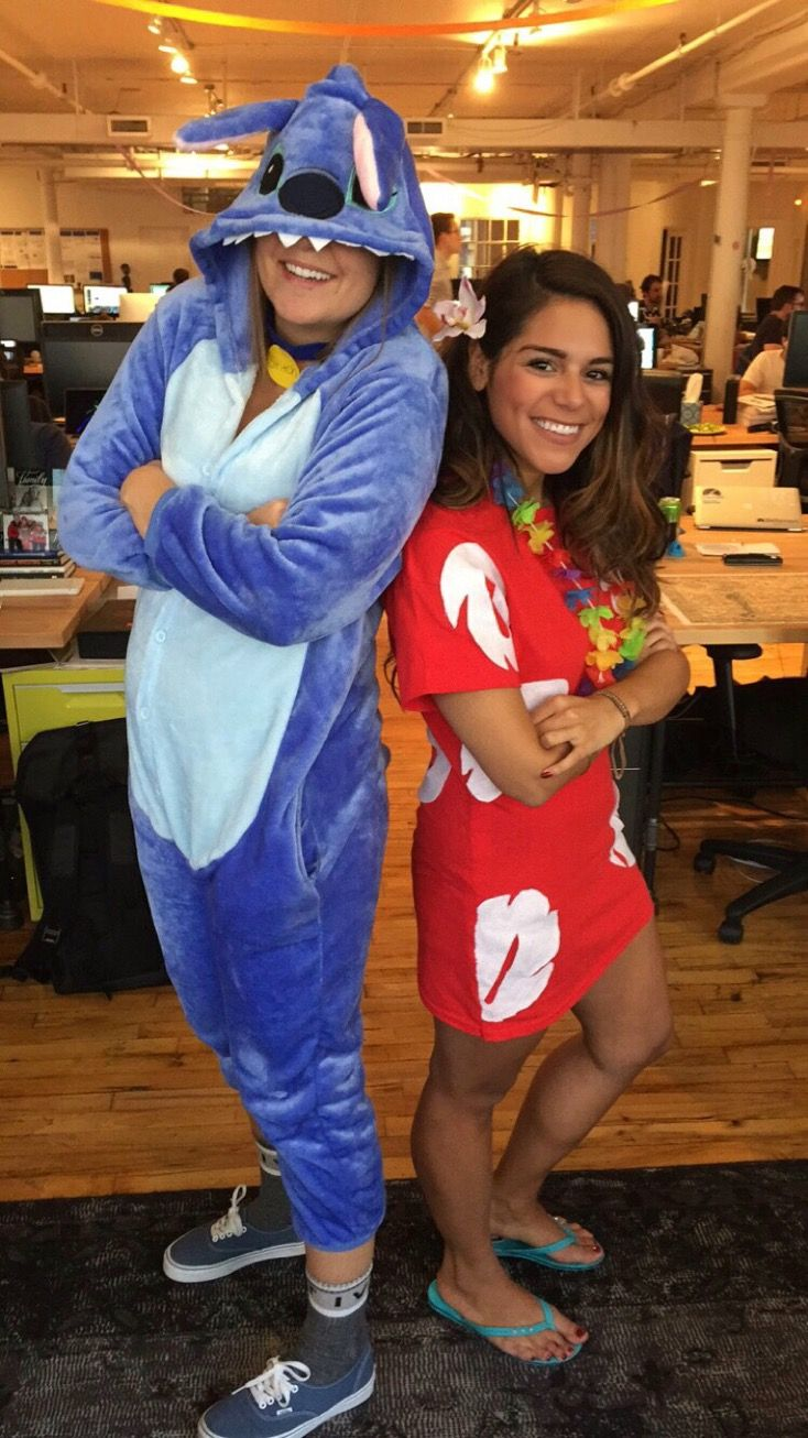Lilo And Stitch Diy Halloween Costume Diy Halloween Costumes For Women Stitch Halloween Costume Cute Couple Halloween Costumes