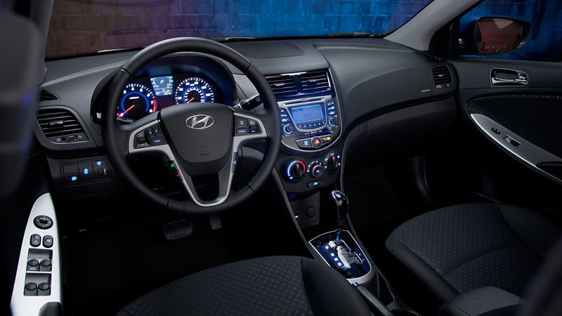 Interior Del Hyundai Accent Hyundai Accent