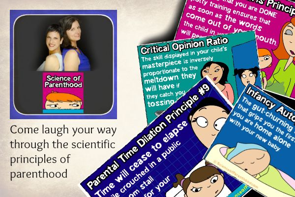 {Bloggers in Focus} Science of Parenthood - stop by for a string of laughs and a chance to win a little swag!