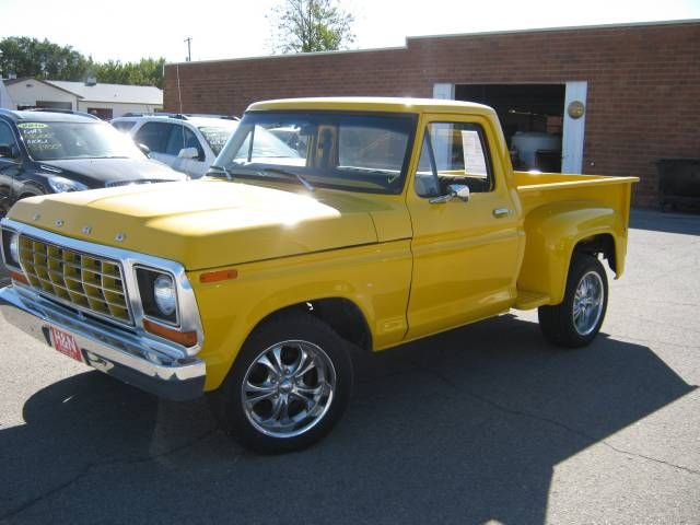 1978 Ford F100 Custom Stepside 1979 Ford Truck Ford Trucks Chevy Stepside