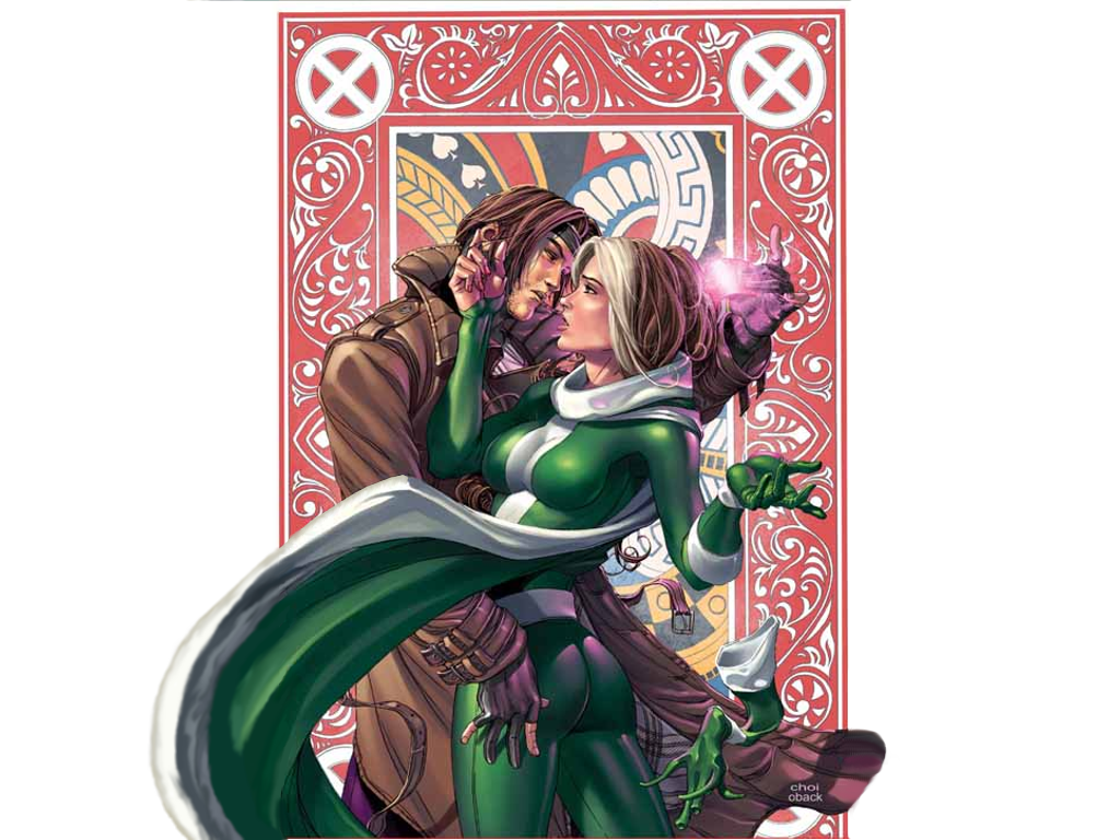 Rogue and Gambit by ~AmeSabishii on deviantART
