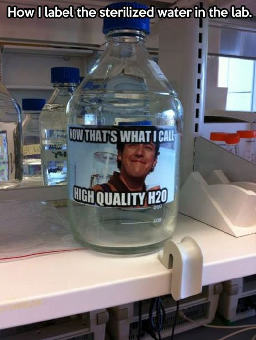 A chemistry teacher with a sense of humor… | Lab humor ...