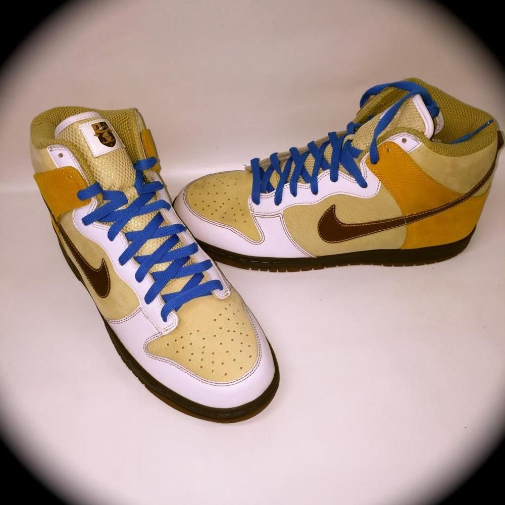san francisco e92ca 765b1 NIKE Vegas Gold Bison Nike Dunk High Premium TENNIS Shoes~NEW~COLLECTORS~SIZE  13 NIKE AthleticSneakersCOLLECTORSITEM