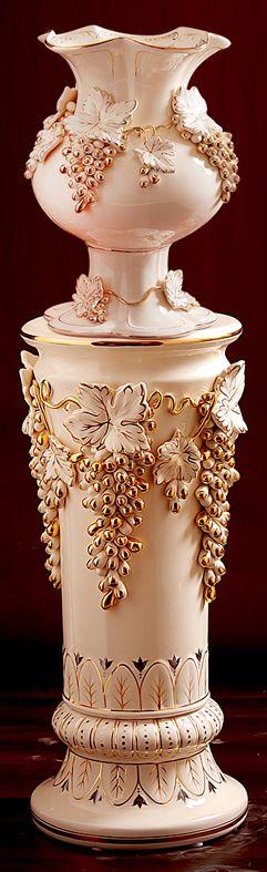 Flower Pot Roman Column Fashion Ceramic Furnishings Home