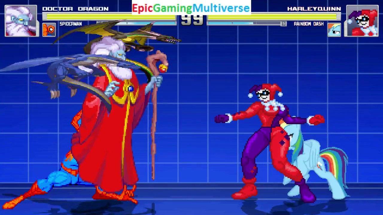 Spider-Man And Valdoll The Evil Wizard VS Harley Quinn & Rainbow Dash In A MUGEN Match / Battle: https://t.co/jjoGYaCG9D via @YouTube