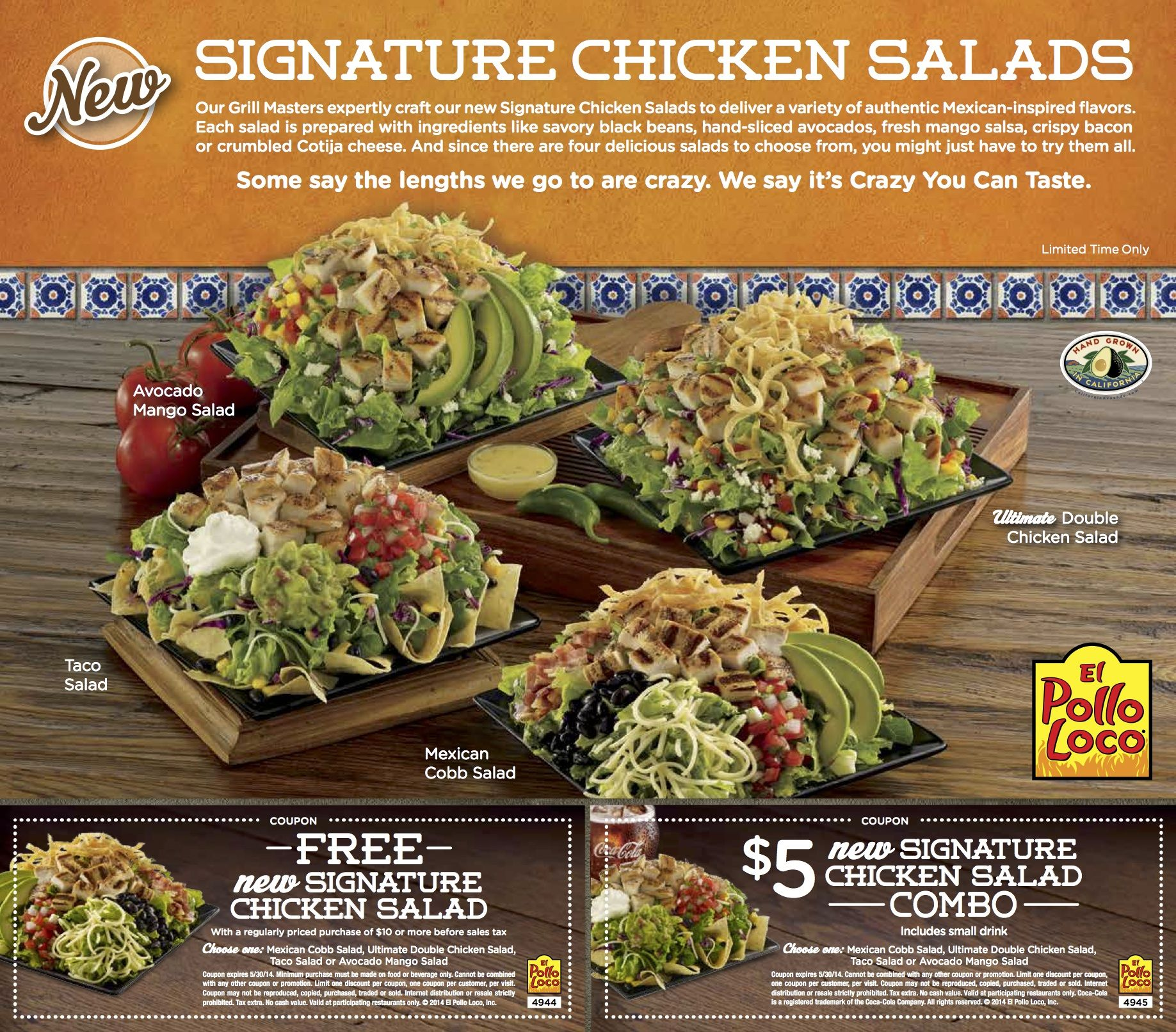 photograph relating to El Pollo Loco Printable Coupons named El pollo loco unique promotions - Haunted residences within just chicago Room