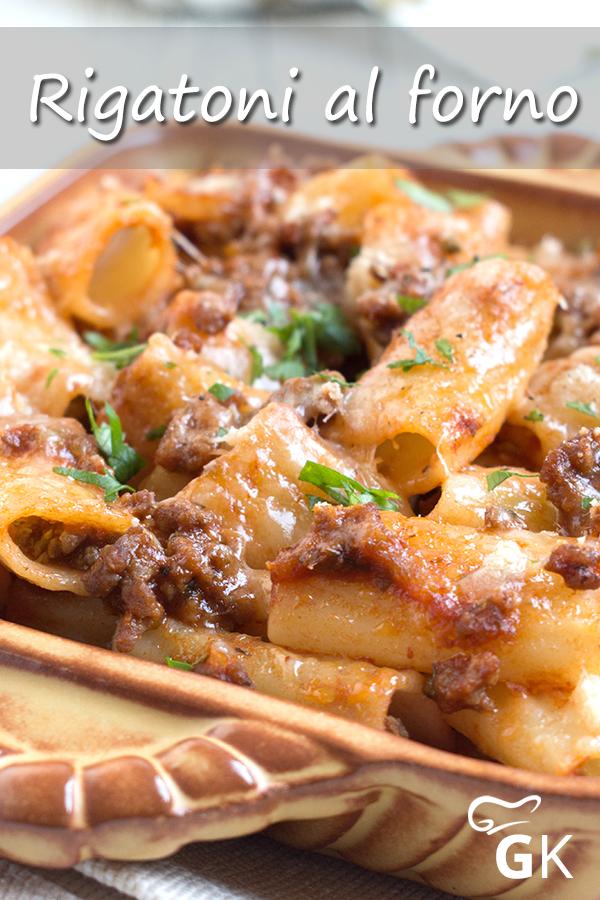 Photo of Die Rigatoni al forno schmecken nicht nur lecker, sondern ist auch für ungeübt…