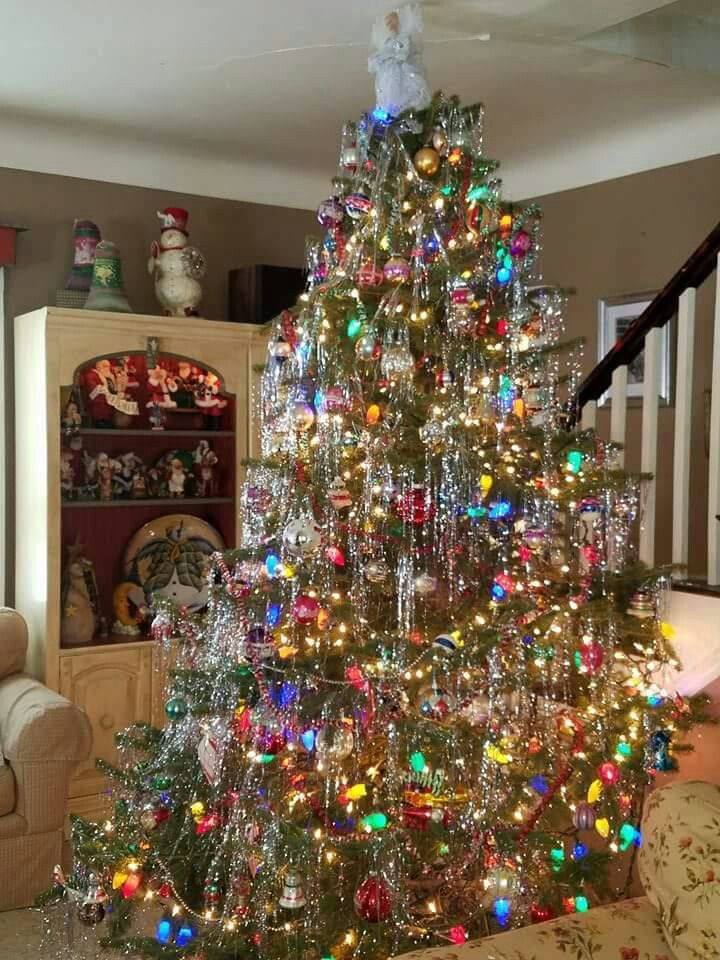 Tinsel Fashion Christmas Tree Holiday Christmas Tree Christmas Tree