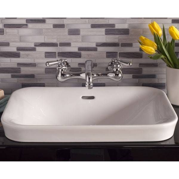 Porcelain Drop In Bathroom Sink No Faucet Drillings Drop In Bathroom Sinks Vintage Bathroom Sinks Sink