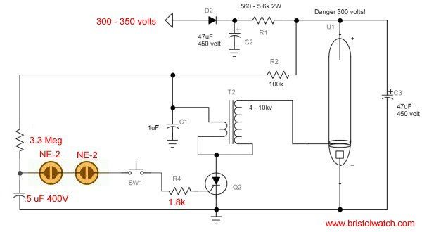 Understanding Xenon Flash Tube Circuits Tutorial