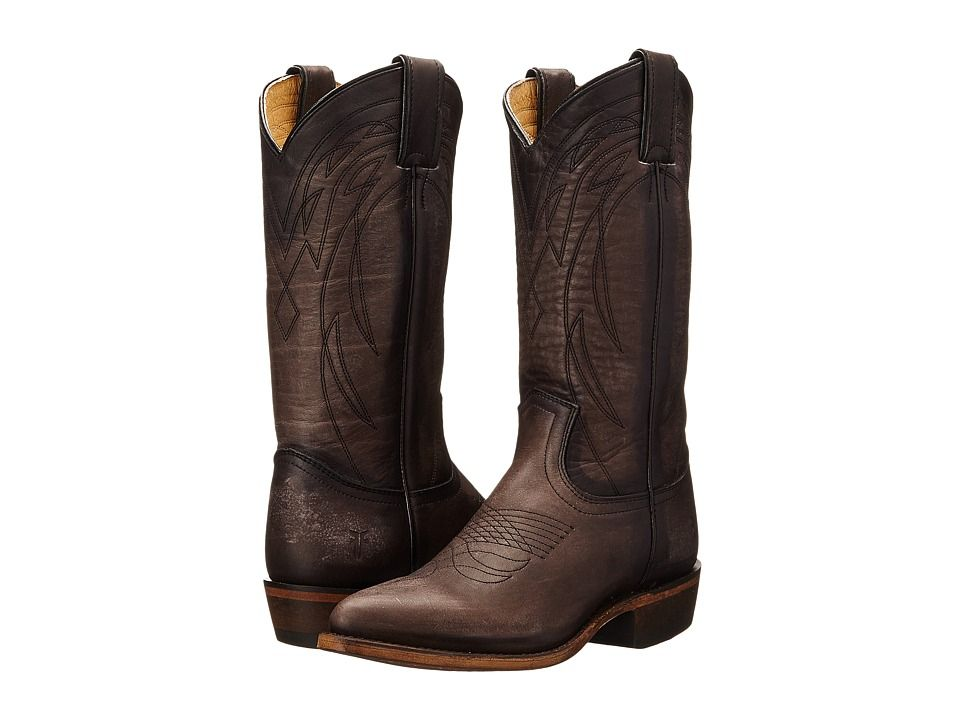 cb12a8f82bc FRYE FRYE - BILLY PULL ON (SMOKE WASHED OILED VINTAGE) COWBOY BOOTS ...