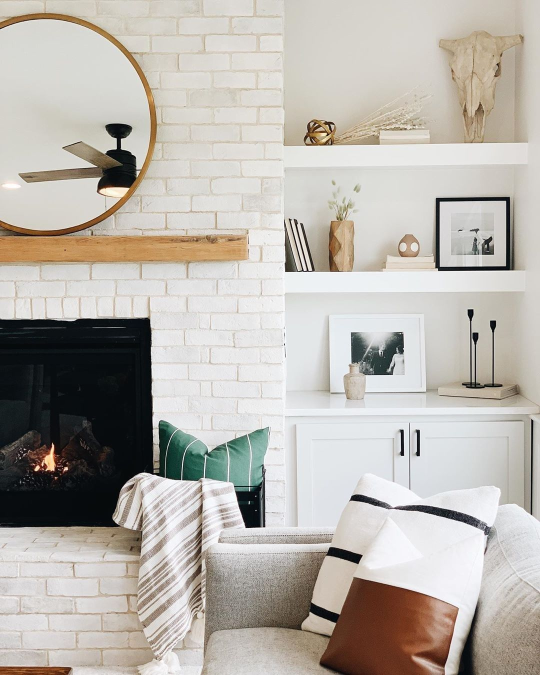 Liketoknow It On Instagram Living Room Inspo Care Of Harvwife Shop This Pic Instantly From Your Phone And D In 2021 Living Room Inspo Dream House Rooms Room Inspo Download fireplace living room