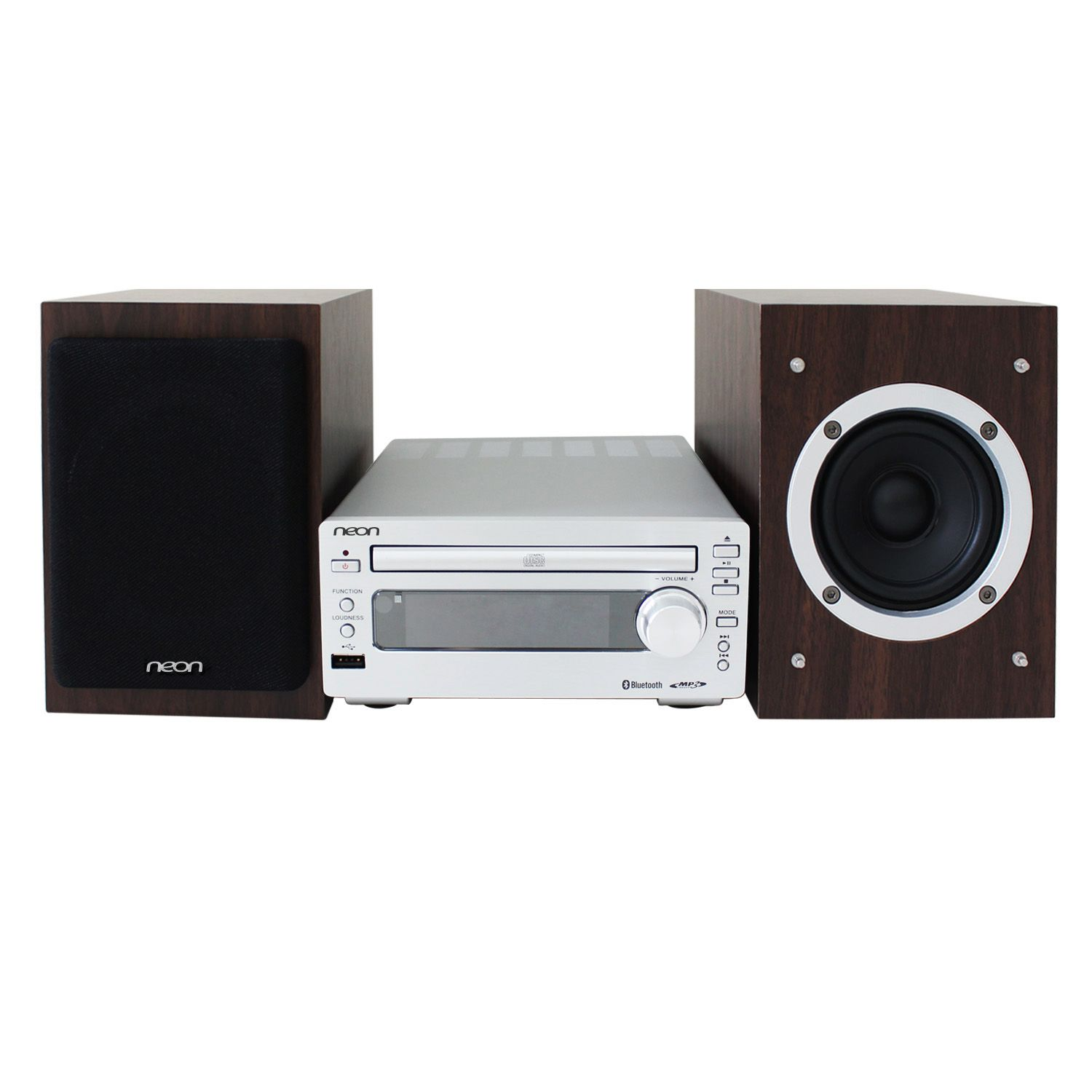neon mcb1533 37 micro cd music system with bluetooth. Black Bedroom Furniture Sets. Home Design Ideas