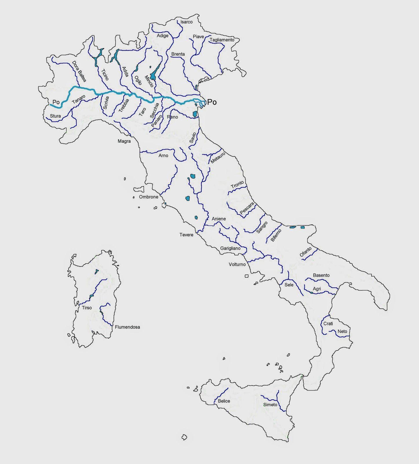 comuniCAAzione I fiumi dell'Italia nel 2020 Fiume