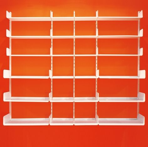 #K1 #bookshelf #bookcase #kriptonite #alluminium #madeinitaly #design