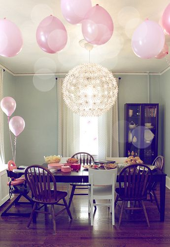 Party: Balloons & Chandeliers
