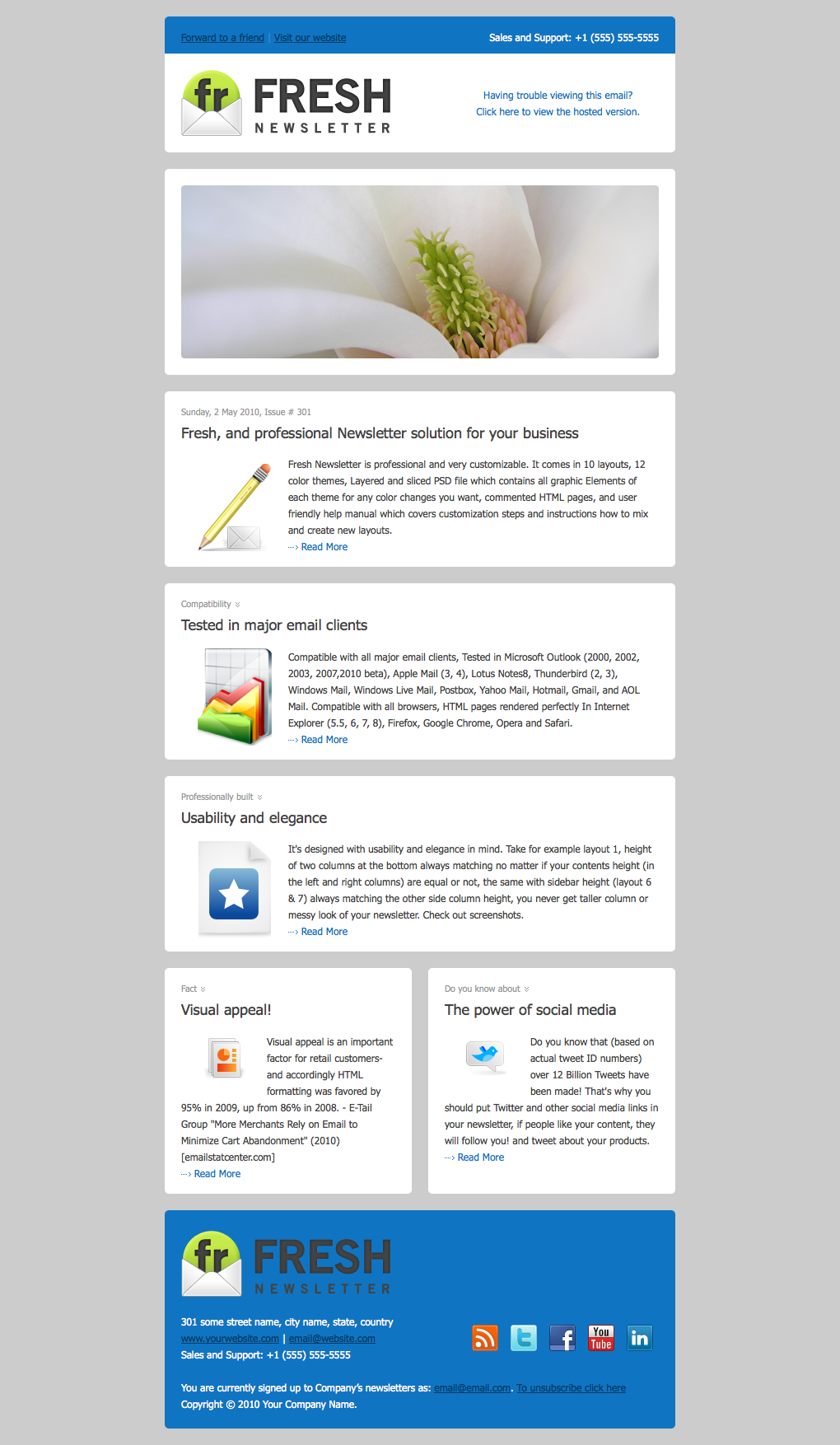 email newsletter design - Google Search   160506 Transparencies ...
