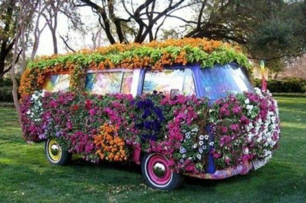 buchsbaum-formschnitt-garten-figuren-volkswagen | outdoor, Gartenarbeit ideen