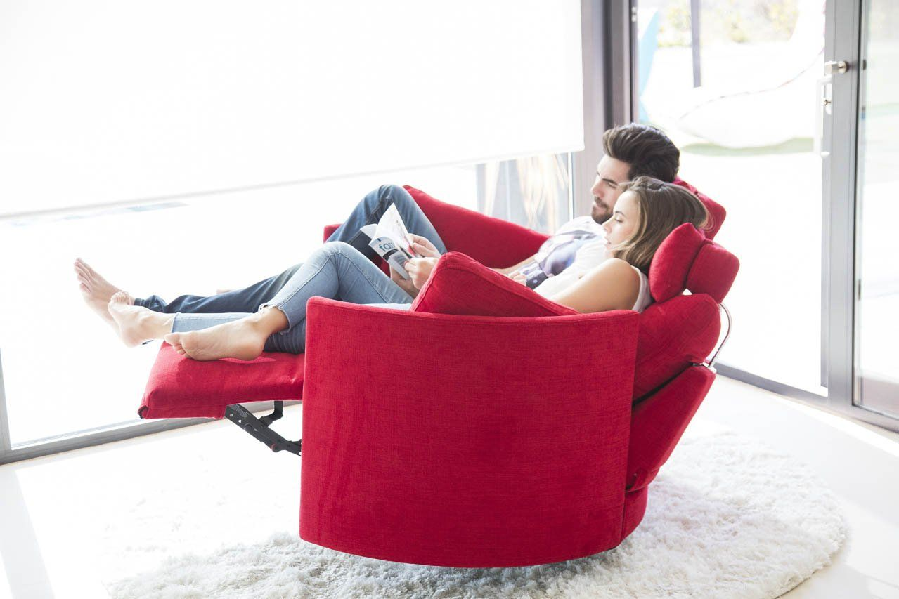 The Moonrise Rocking Swivel And Recliner Armchair From Fama You