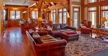 Mountain home interior design is the best ideas to have  classic and unique look choose designs for having wonderful of also custom timber frame ski traditional living room rh pinterest