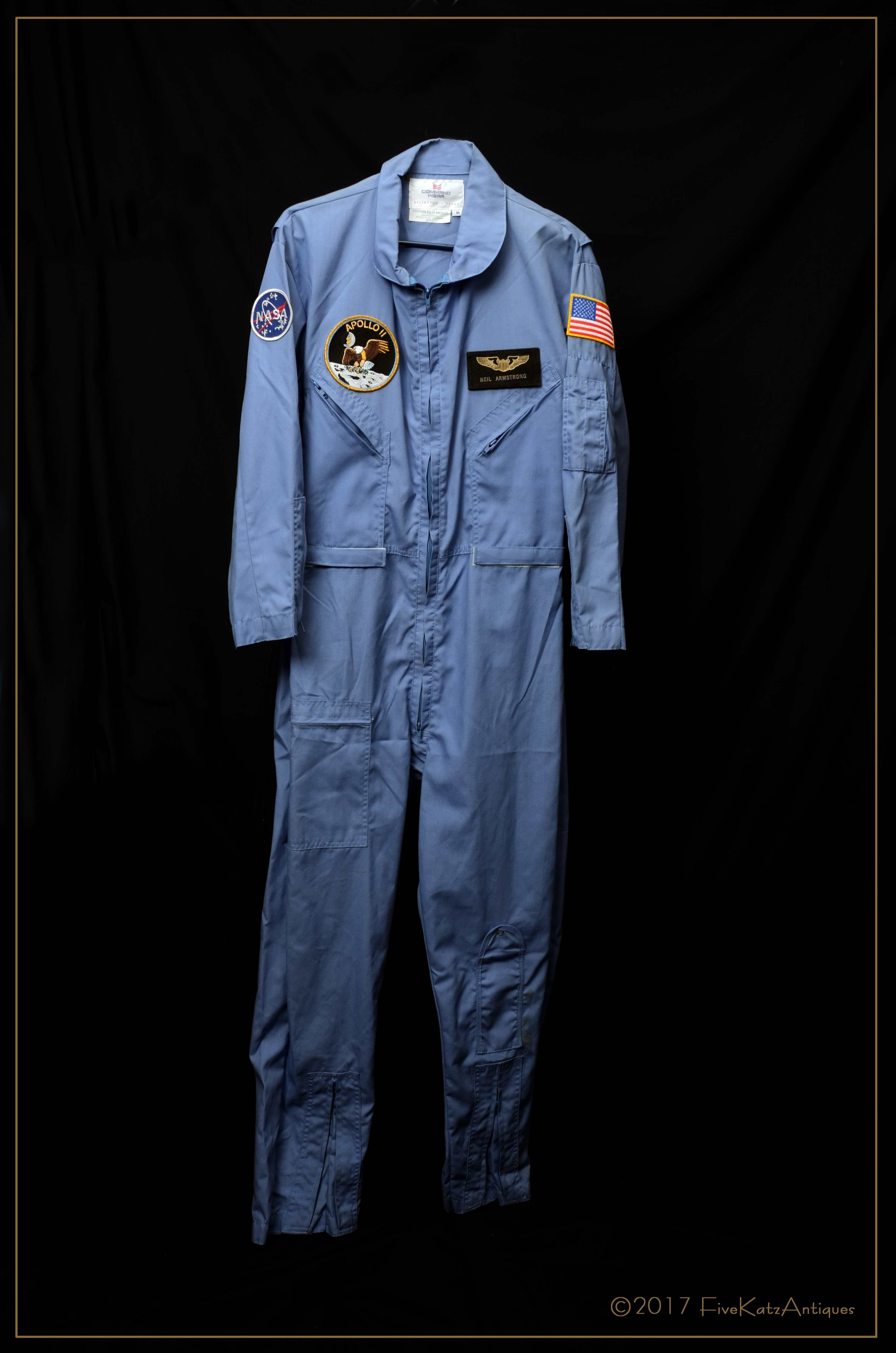 5849459a8194 Vintage Reproduction NASA Neil Armstrong flight suit