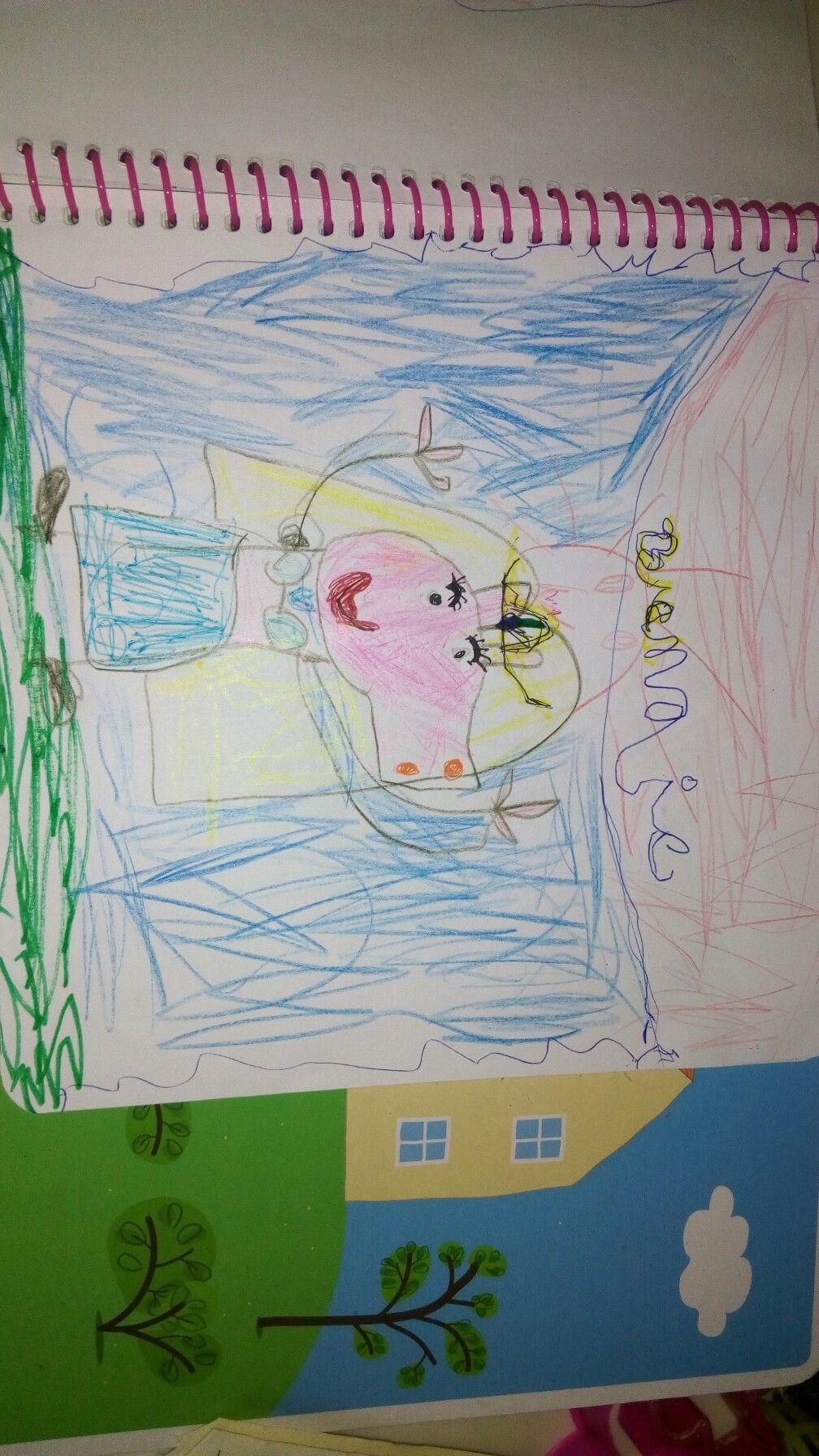 Mi hijita.Dibujos de pepa pig odalisca.