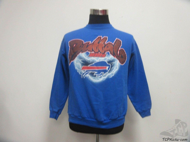 Fruit of the Loom Buffalo Bills Crewneck Sweatshirt sz M Medium NFL  Football Vintage by TCPKickz on Etsy fa70c1b66