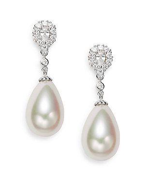 16MM White Teardrop Pearl