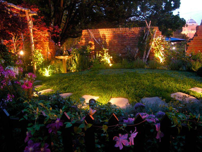 Ideas For Garden Wall Decorations Solar Lights Garden Solar Powered Garden Lights Solar Landscape Lighting