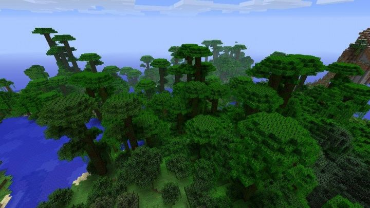 Minecraft Ps4 Jungle Seed 1 39 At Spawn Jpg With Images