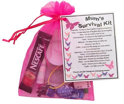 18th Birthday Survival Kit Birthday Gift Novelty Present: Mum's Survival Kit Gift (Great Present For Birthday
