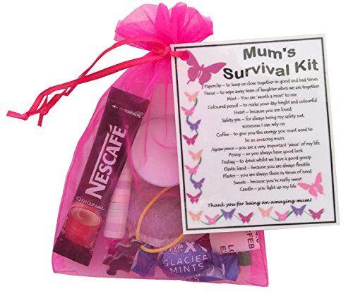 Mum S Survival Kit Gift Great Present For Birthday