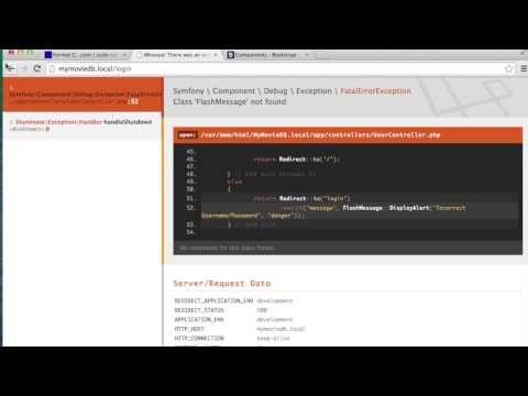 Creating Laravel / Angular JS Webapp Tutorial Series – Part