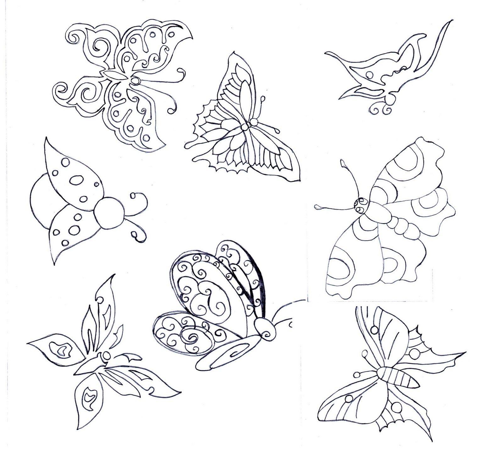 Karakalem Cizimleri Kelebek En Yeniler En Iyiler Kelebekler