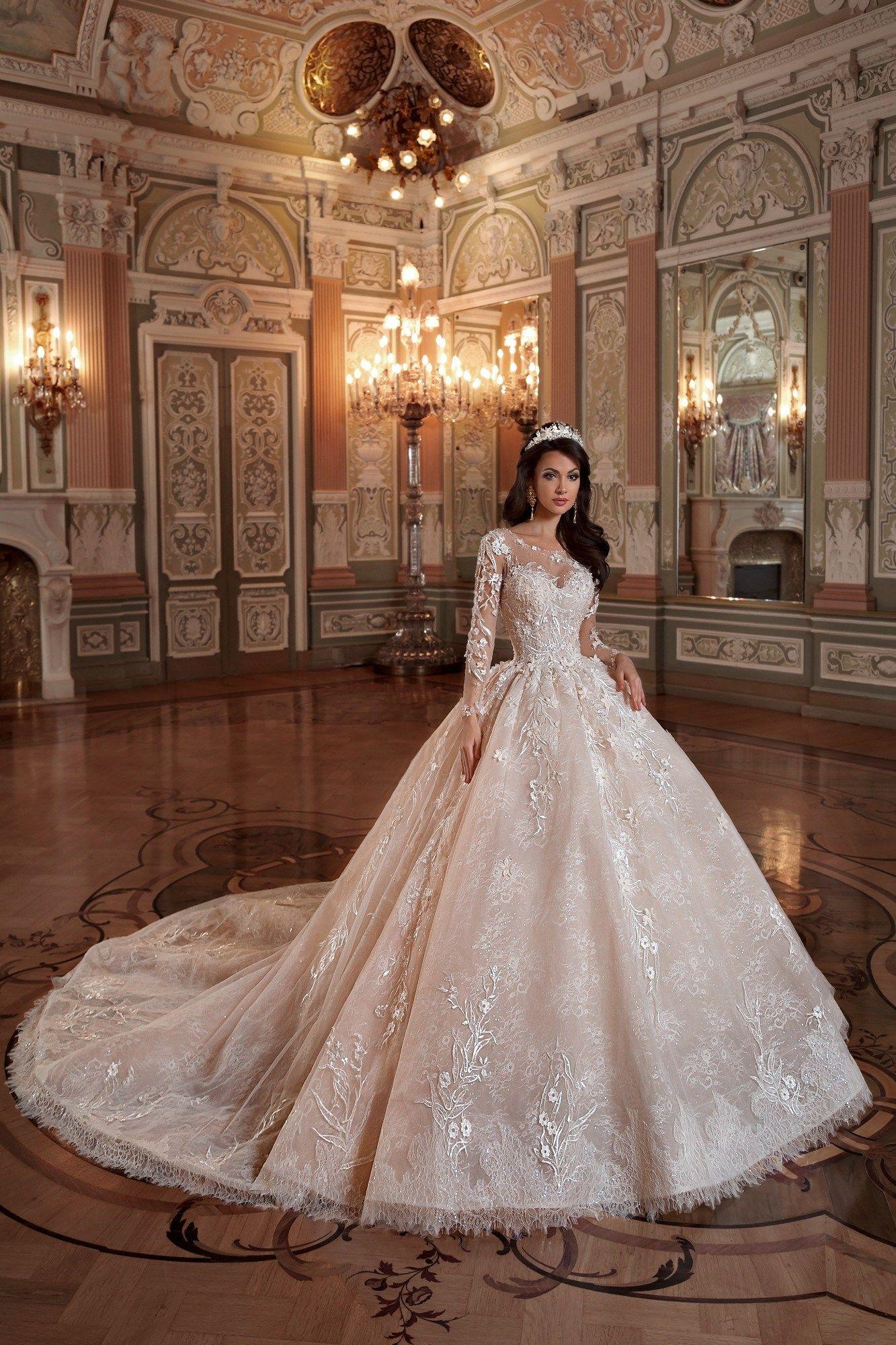 Embellishment edging hem Ball gowns wedding, Ball gown