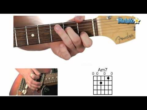 Am7 Guitar Chord Lesson How To Guitar Apps Pinterest Guitar