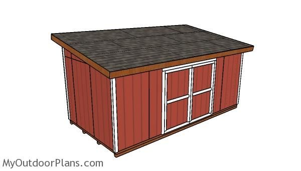 10x20 Lean To Shed Plans Lean To Shed Plans Shed Plans Lean To Shed