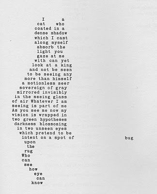 Shape Poems Are Poems Where The Words Are Arranged To Form A Shape