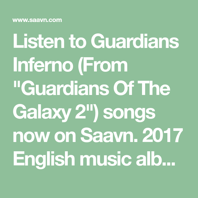 Listen to Guardians Inferno (From