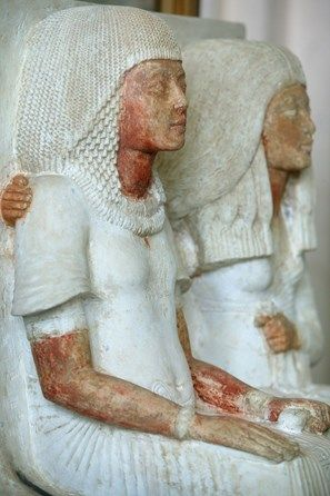 Akhenaton and Nefertiti, Le Caire, Egypt.                                                                                                                                                     Plus