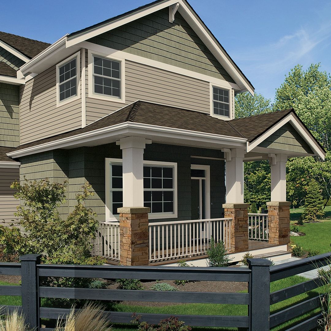 Home Exterior Design Gallery Inspiration Royal Building Products With Images House Designs Exterior House Exterior Vinyl Siding