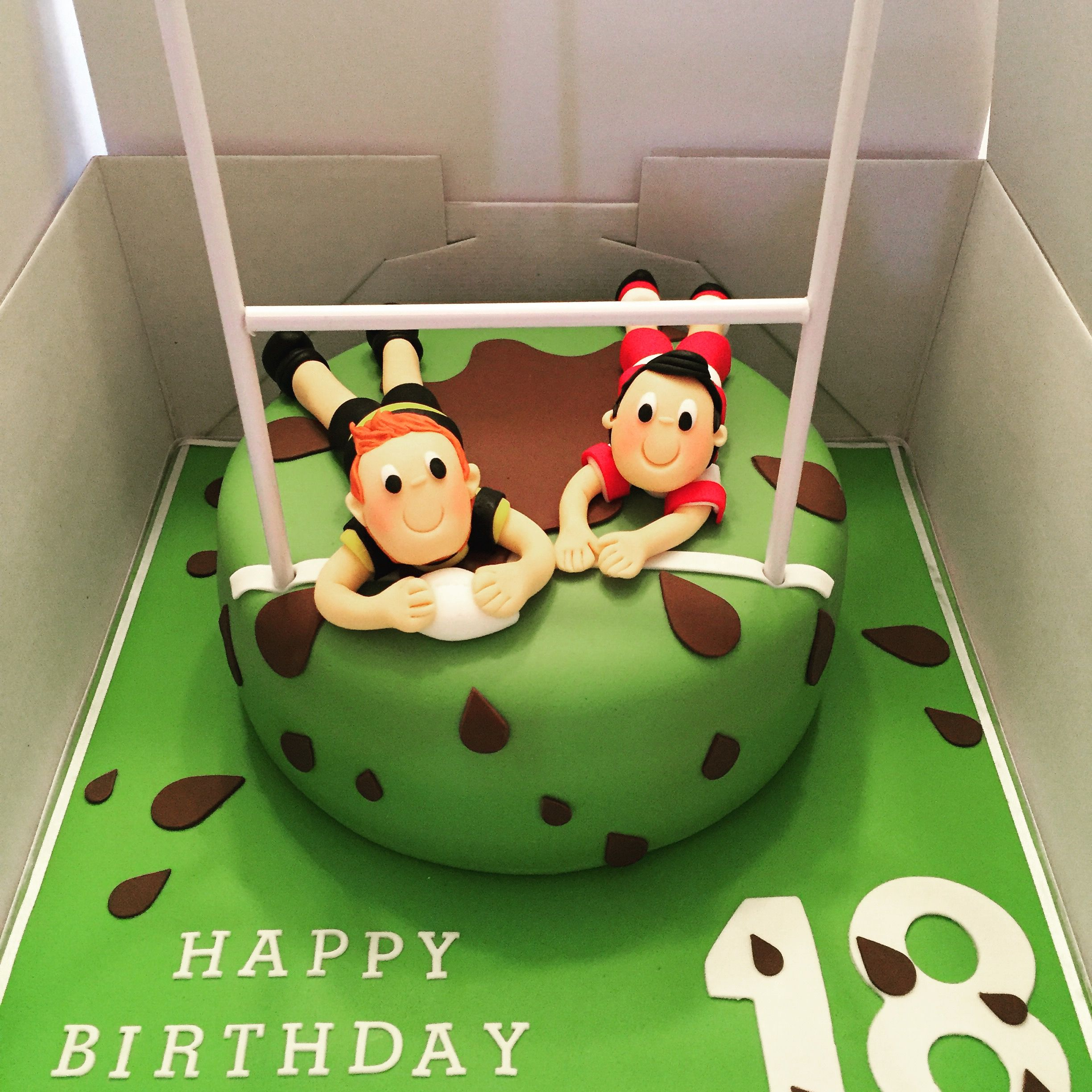 rugby theme birthday cake kaihariels birthday pinterest gateau anniversaire rugby et g teau. Black Bedroom Furniture Sets. Home Design Ideas