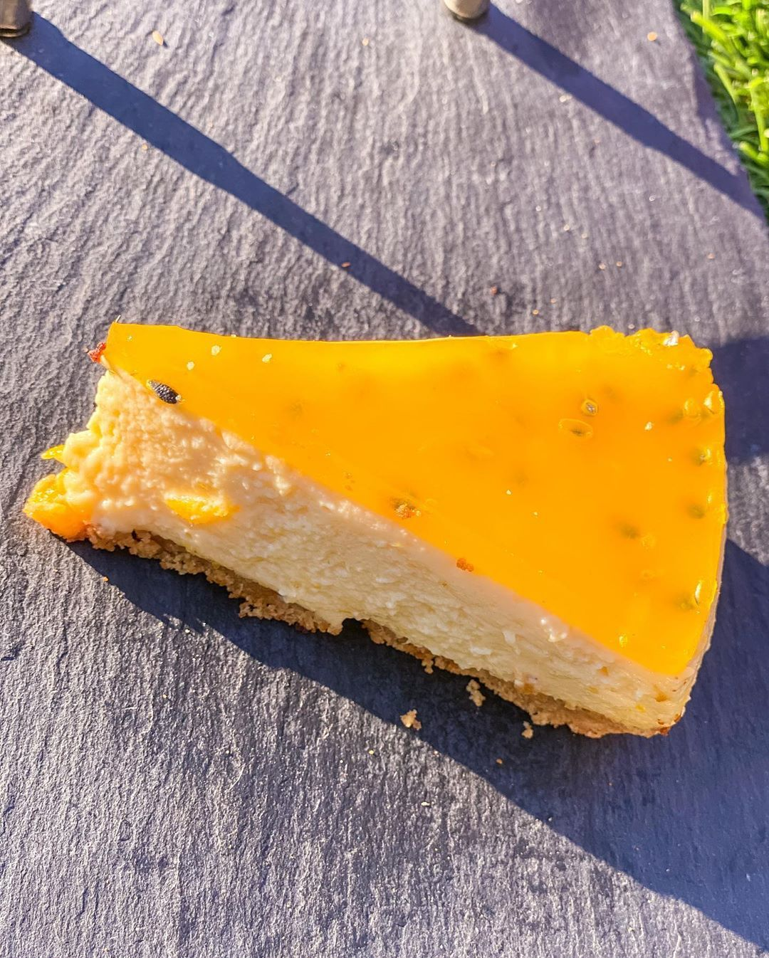 108 Sweet Street Halal And Vegetarian Friendly Mango Passion Cheesecake 108sweetstreet Leicester Homebaker Brownies Cheeseca In 2020 Foodie Food Eat