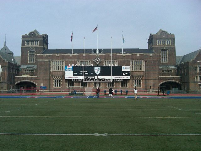 Franklin Field Baseball Park Football Stadiums