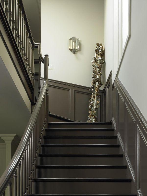 Best Grey Painted Wainscot Paneling Www Twineinteriors Com 400 x 300