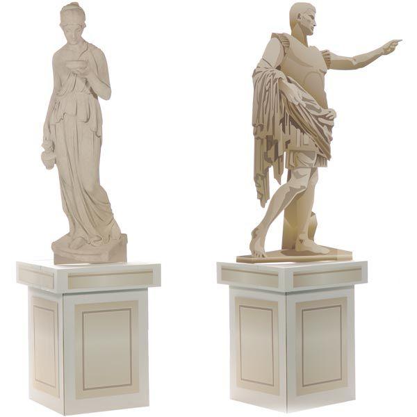 Greek Gods Statues Kit
